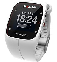 Polar M400 HR - orologio GPS - Orologi multifunzione, White