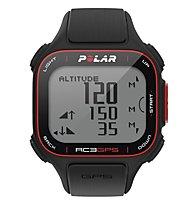 Polar RC3 GPS HR - Orologi multifunzione, Black