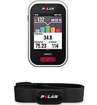 Polar V650 HR - ciclocomputer GPS, Black