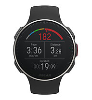 Polar Vantage V Titan - GPS Multisportuhr, Black/Red