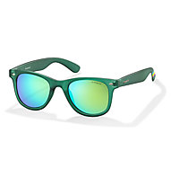 Polaroid Rainbow Sport/Sonnenbrille, Transp.Green