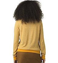 Prana Analia Cozy Up - pullover - donna, Yellow
