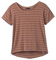 Prana Foundation Slouch - T-Shirt - Damen, Brown
