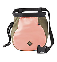 Prana Large Women's Chalk Bag with Belt - portamagnesite - donna, Red Coral