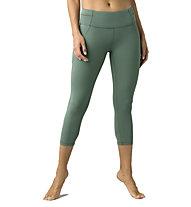 Prana Momento Capri - leggins - donna, Green
