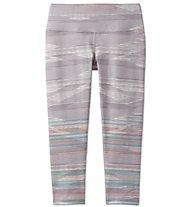 Prana Pillar Printed - Capri-Hose - Damen, Light Grey