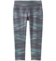 Prana Pillar Printed - Capri-Hose - Damen, Grey/Light Blue