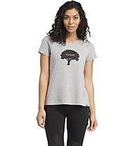 Prana Prana Graphic - T-shirt - donna, Grey