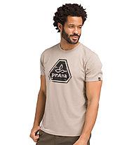Prana Prana Icon - T-Shirt Yoga - uomo, Beige