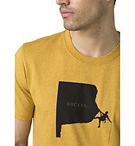 Prana Social Climber Journeyman - T-Shirt - Herren, Yellow