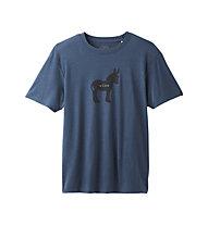 Prana Wise Ass Journeyman - T-Shirt Klettern - Herren, Blue