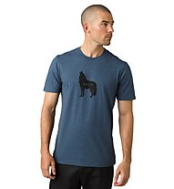 Prana Wolf Pack Journeyman - T-Shirt - Herren, Blue