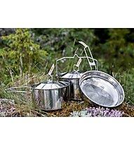 Primus CampFire Cookset S.S Large - Set Campingtöpfe, Silver