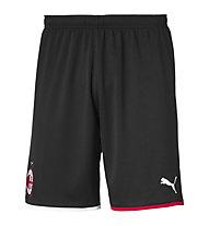 Puma AC Milan Replica - pantaloni calcio, Black