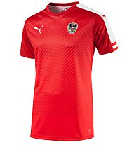 Puma Austria Home Replica - Nationaltrikot Österreich, Red/White
