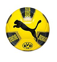 Puma BVB Fanwear Ball, Black/Ebony/Cyber Yellow