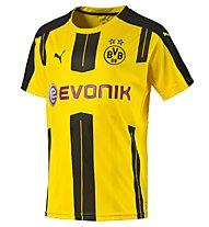 Puma BVB Home Shirt Replica Fußball Heimtrikot, Yellow/Black