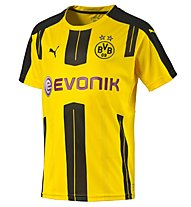 Puma BVB Home Shirt Replica Fußball Heimtrikot Kinder, Yellow/Black