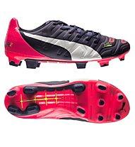 Puma EvoPower 2.2 Firm Ground - Fußballschuh - Herren, Pink/Navy