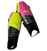 Puma EvoPower 3.3 Parastinchi Calcio, Pink/Yellow