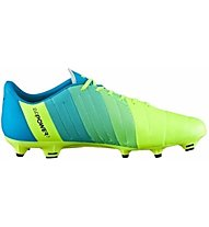 Puma EvoPower 3.3 FG - Fußballschuhe, Light Yellow/Blue/Black