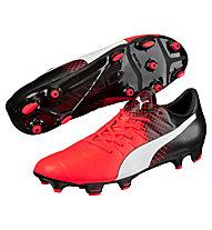 Puma evoPower 3.3 Tricks FG - Fußballschuhe, Red/Black