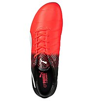 Puma evoPower 3.3 Tricks FG - scarpa da calcio terreni compatti, Red/Black