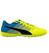 Puma EvoPower 4.3. TT Fußballschuhe, Yellow/Black/Blue
