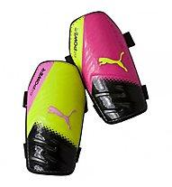 Puma evoPower 5.3 - parastinchi calcio, Pink/Yellow