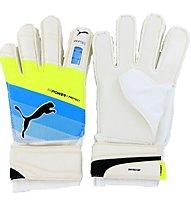 Puma EvoPower Protect 3.3 Guanti da Calcio, White/Dark Blue