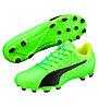 Puma evoPower Vigor 4 AG - scarpe da calcio per terreni sintetici, Green/Black