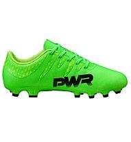 Puma evoPower Vigor 4 AG JR - Fußballschuh für Kunstrasen, Green/Black