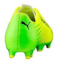 Puma evoSpeed 17.4 FG - Fußballschuh für festen Boden, Green/Black