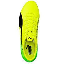 Puma evoSPEED 17.5 AG - Fußballschuh für Kunstrasen, Green/Black