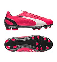 Puma EVOSPEED 4.3 FG JR, Light Red