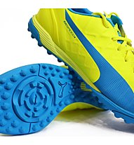 Puma EvoSpeed 4.4 TT - Fußballschuhe, Light Yellow/Dark Blue