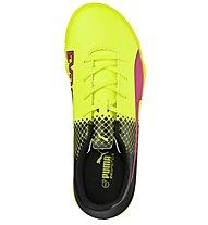 Puma evoSpeed 5.5 Tricks TT Jr - scarpe da calcio bambino, Pink/Yellow