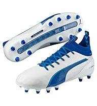Puma evoTouch 1 FG - Fußballschuh für feste Böden, White/Blue