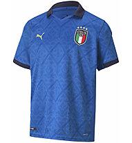 Puma Figc Home Replica Italy Jr - maglia calcio - bambino, Light Blue