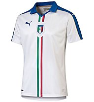 Puma FIGC Italia Auswärts-Trikot 2016, White/Team Power Blue