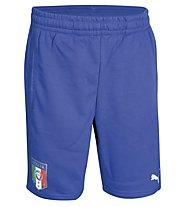 Puma Figc Italia Bermudas Short Jr - Pantaloni Corti, Power Blue