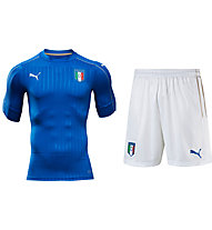Puma Set Trikot + Shorts Italien Home EURO 2016