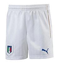 Puma FIGC Italia Home 2016 - Fußballshorts Kinder, White