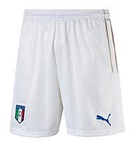 Puma FIGC Italia Shorts - pantaloncini da calcio, White/Dark Blue