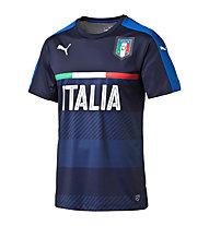 Puma FIGC Italia 2016 Training Jersey - Fußballshirt, Black/Dark Blue