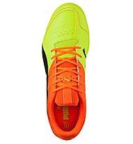 Puma Gavetto Sala Herren - Fußballschuhe Hallenböden, Yellow/Orange