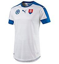 Puma Slovakia Home Replica Shirt - Nationaltrikot Slowakei, White/Blue