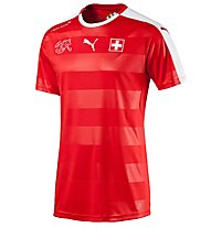 Puma Switzerland Home Replica Shirt - maglia calcio Svizzera, Red/White
