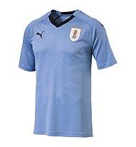 Puma Uruguay Home Replica Shirt - Fußballtrikot - Herren, Light Blue