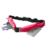Puro Universal Sport Belt - cintura running doppia tasca, Pink